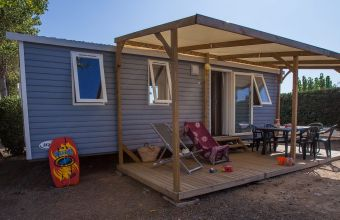 Mobil-home Famille camping Bel Air
