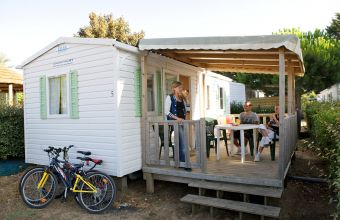 Mobil-home Riviera camping Les Peupliers