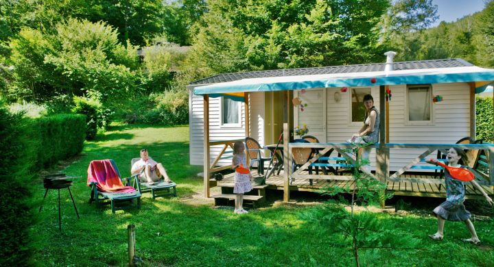 Mobil-home Atlantique camping Le Moulin du Roch